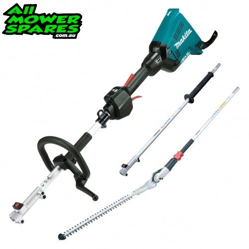 Makita 36V Multi-Tool Hedge Trimmer 3715mm (146 Inch) Kit With Extension Pole and Hedge Trimmer Attachment DUX60ZPH