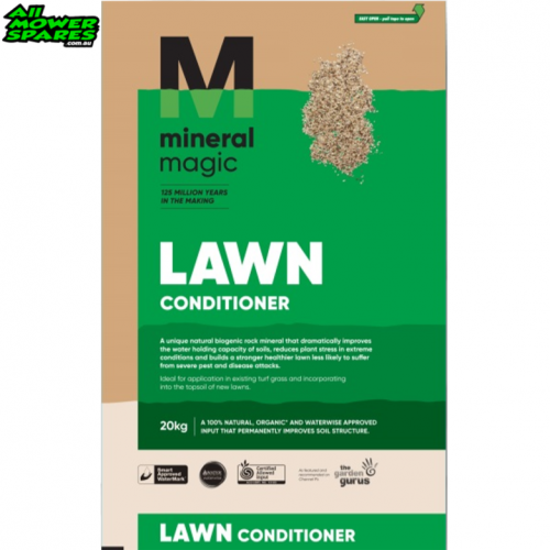 Mineral Magic 20KG Lawn Conditioner - Water and Nutrient Retention
