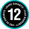 Quality for a long lifetime – 12 year guarantee.