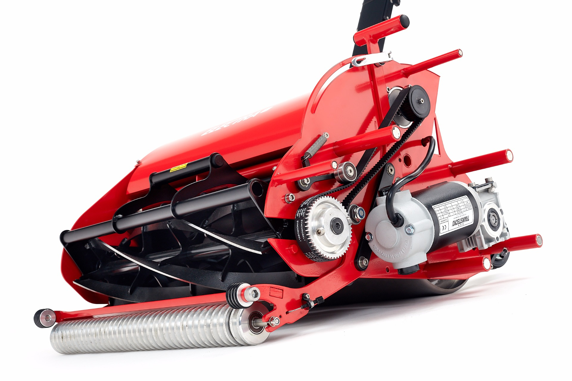 accu cordless model Electra silent lawn mower