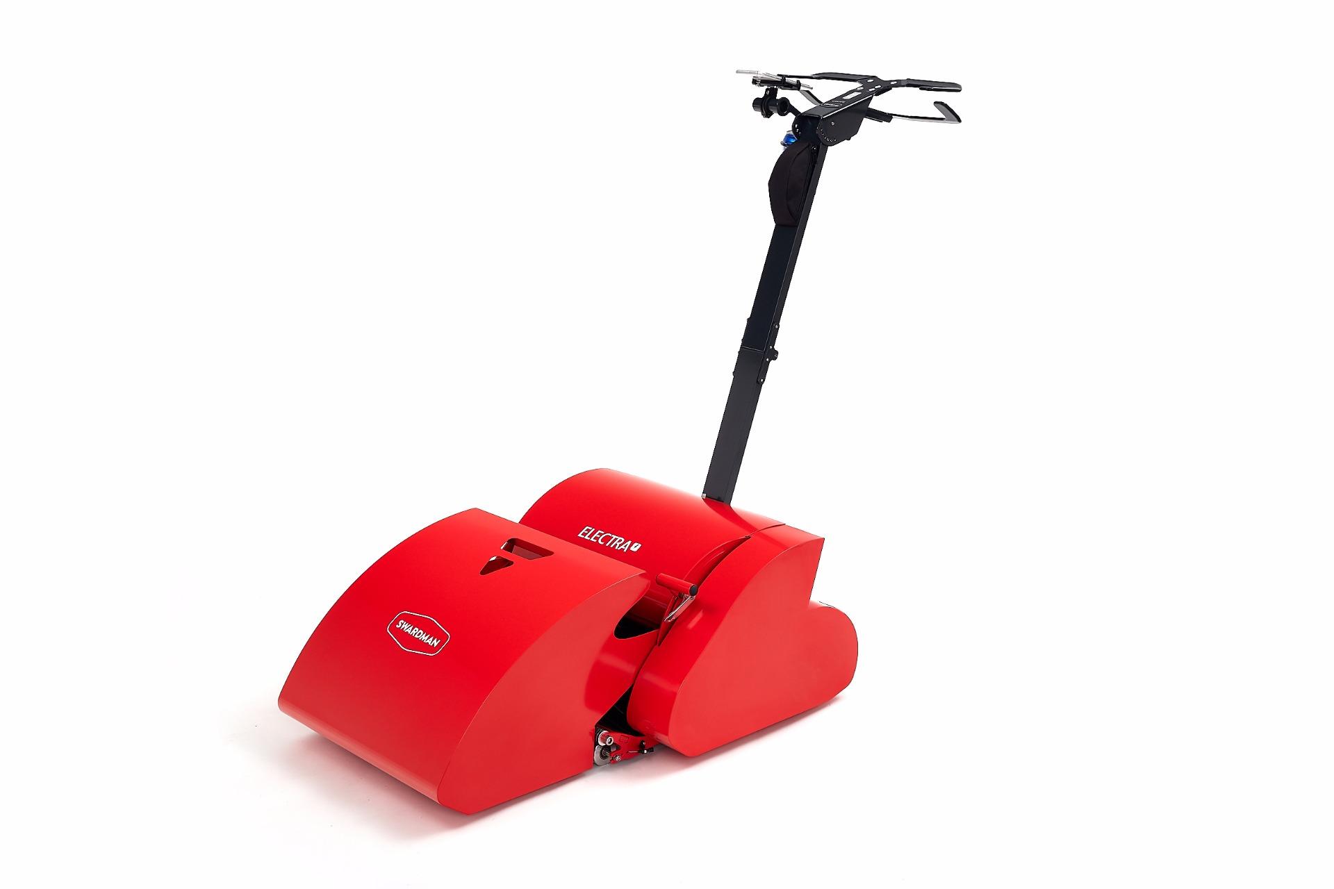 accu cordless model Electra reel lawn mower